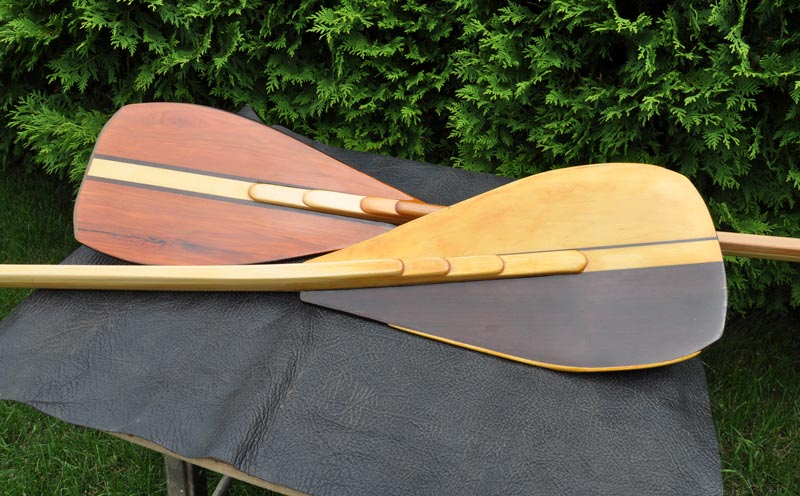 picture of DIY paddles.